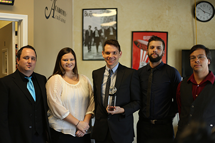 2014 Music Academy Success School of the Year Award Winner Tim Benson